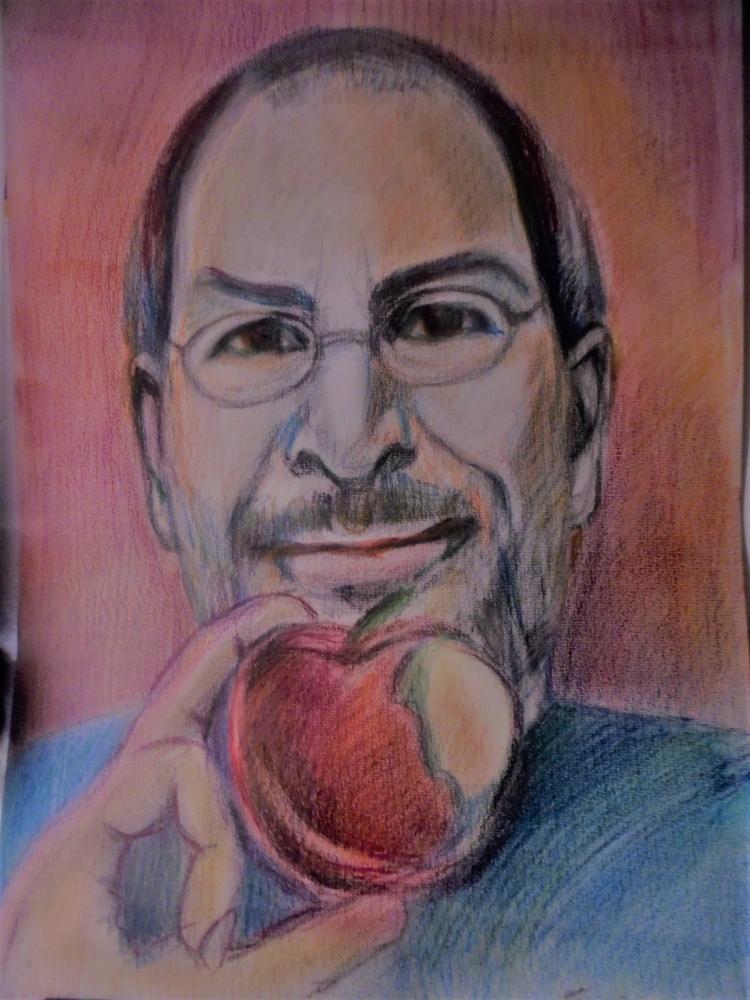 Steve Jobs par ferrokaro